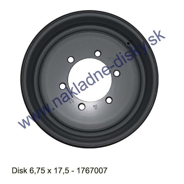 Nákladní disk 6,75x17,5 (6x161/ET0/Std BZ) Ples