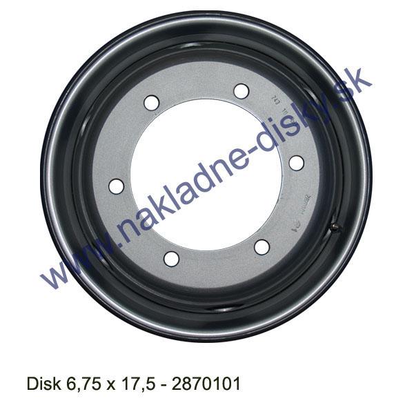 Nákladní disk 6,75x17,5 (6x202/ET128,5/Alive MZ) H.Lemmerz