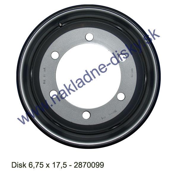 Nákladní disk 6,75x17,5 (6x202/ET128,5/Alive BZ) H.Lemmerz