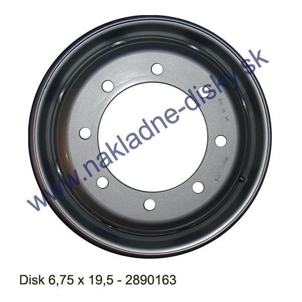 Nákladní disk 6,75 X 19,5 (8x221/ET134/Alive MZ) H.Lemmerz