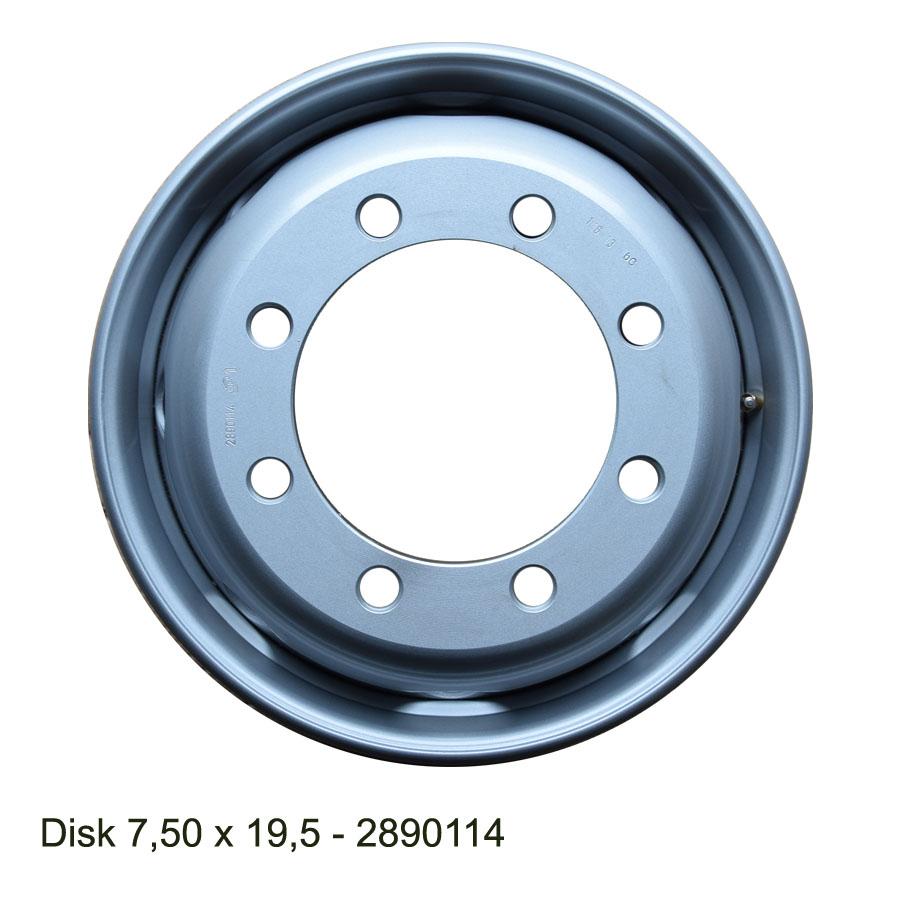 Nákladní disk 7,50x19,5(8x221/ET143/ Alive BZ)H.lemmerz