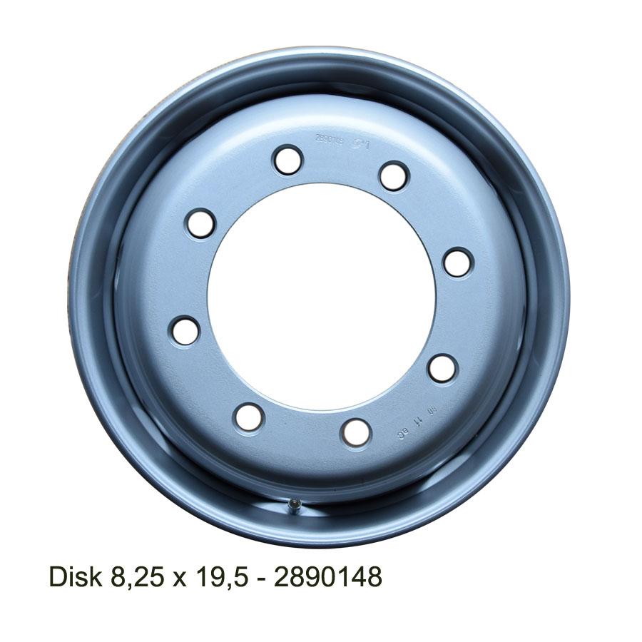 Nákladní disk 8,25x19,5 (8x221/ET157,5/Alive BZ) H.Lemmerz