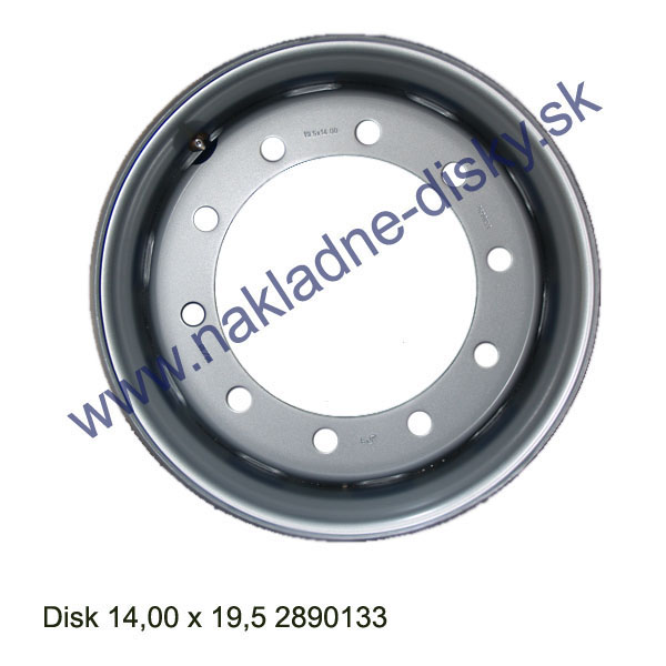 Nákladní disk 14,00x19,5 (10x281/ET120/Alive MZ) H.Lemmerz