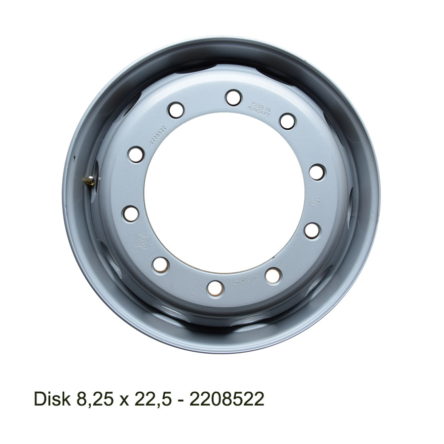 Nákladní disk 8,25x22,5 (10x281/ET152/AliveBZ) Ples