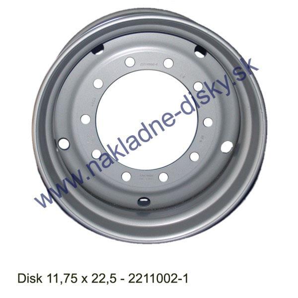 Nákladní disk 11,75x22,5 (10x281/ET0/Alive/MZ) Ples