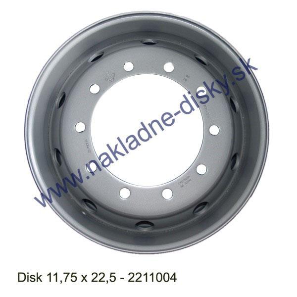 Nákladní disk 11,75x22,5 (10x281/ET120/AliveMZ) Ples