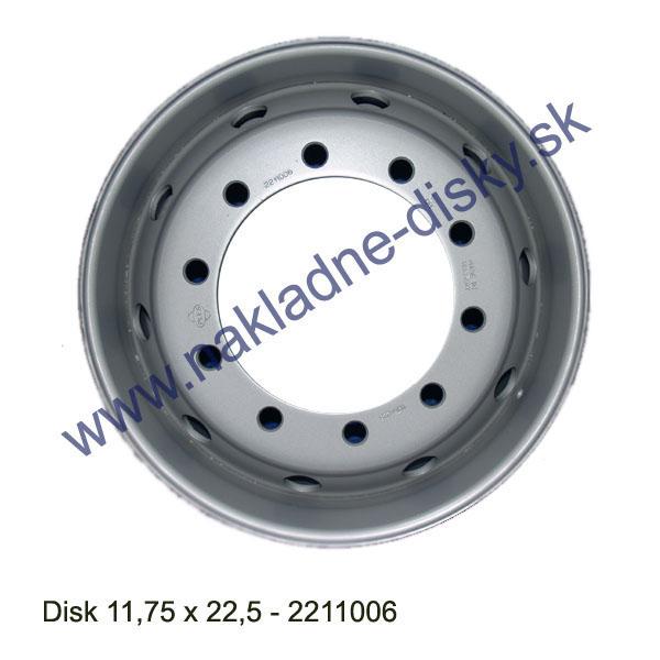 Nákladní disk 11,75x22,5 (10x281/ET120/Alive BZ) Ples