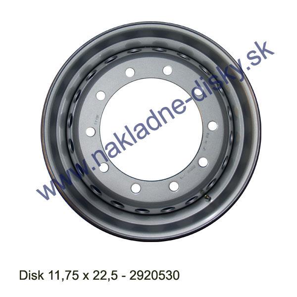 Nákladní disk 11,75x22,5 (10x281/ET130/Alive MZ) H.Lemmerz
