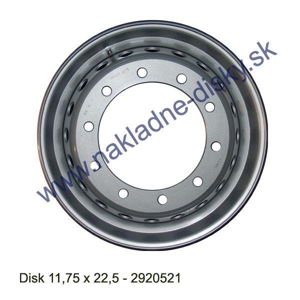 Nákladní disk 11,75x22,5 (10x281/ET135/Alive/MZ) H.Lemmerz