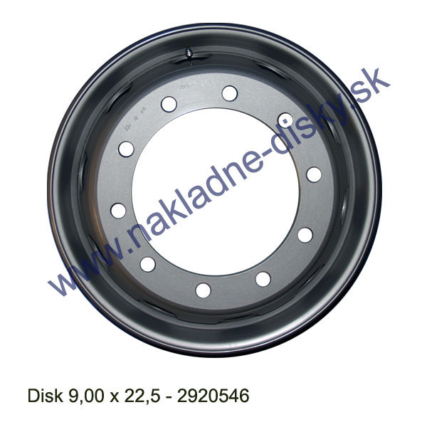 Nákladní disk 13,00x22,5 (10x281/ET0/Alive/BZ) H.Lemmerz