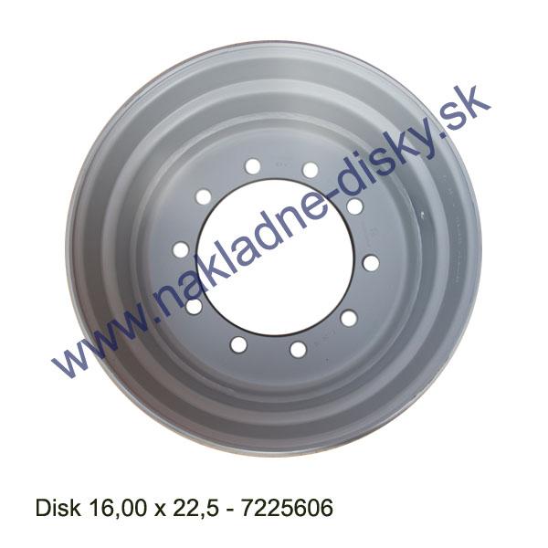 Nákladní disk 16x22,5 (10x281/ET0/Alive/BZ) Centurion