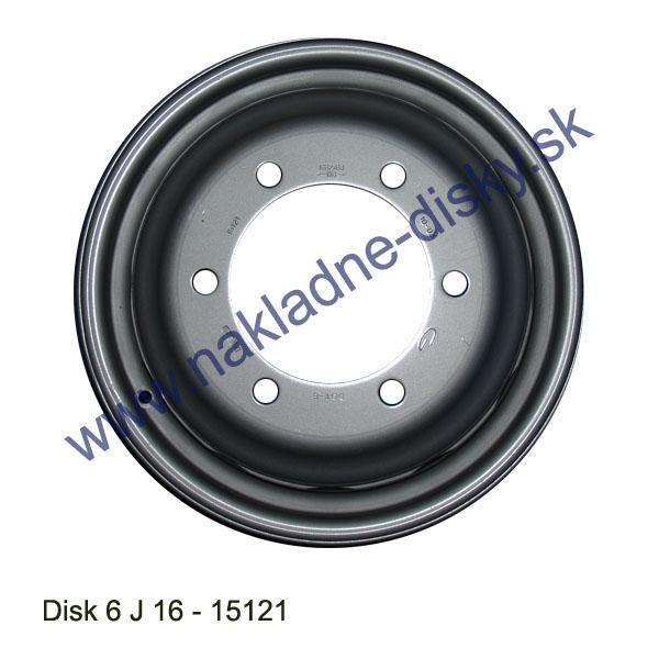 Nákladní disk 6J16 (6x161-ET124/MZ Alive) Gianetti
